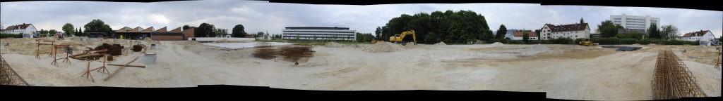 Panorama mit Bodenplatte